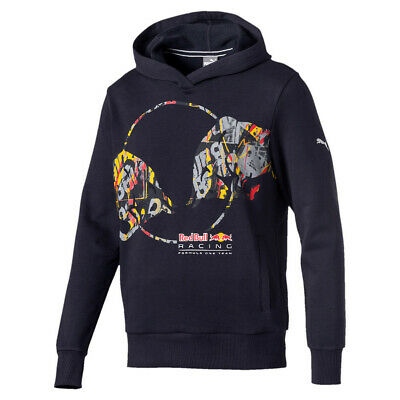 Red Bull Racing Graphic Hoodie von Puma Sweater Pullover L