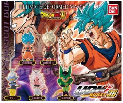 BANDAI DRAGON BALL Z Super UDM BURST Vol.36 Mini Figure All 5 set NEW JP import