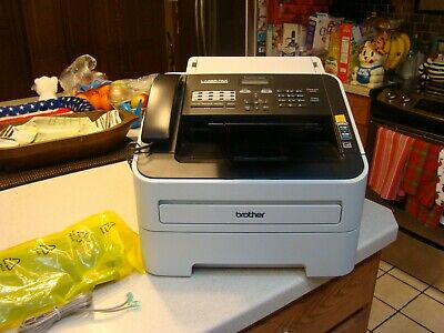 Brother Fax Copy Machine Laser Fax Fast G3. 33.6 Kbps IntelliFax 2840 Perfect