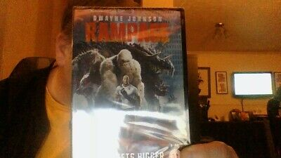 Rampage [DVD] [2018] (DVD) *new and sealed * free post