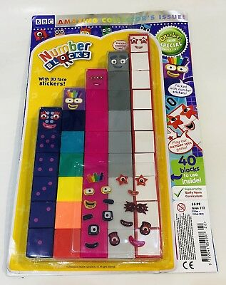 CBeebies Special Magazine #122 AMAZING NUMBER BLOCKS GIFT ISSUE!  (NEW)