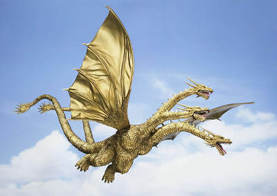 Godzilla KING GHIDORAH S.H.Monster Arts SHMonsterArts SHM - bandai *""