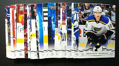 2018-19/18-19 Upper Deck Series 1 And 2 Lot Of 20 Base Cards You Pick Up Select