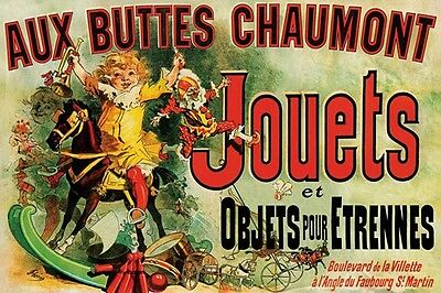Jouets poster! Seen on Friends Toys and Objects New Years Gift Dorm Decor New