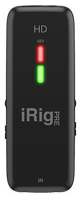 IK Multimedia iRig Pre HD iOS Mic Preamp & Interfa
