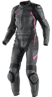 NEW LADIES/Women Motorcycle Leather Jacket,Pant/Suit Motorbike Racer,CE Armored