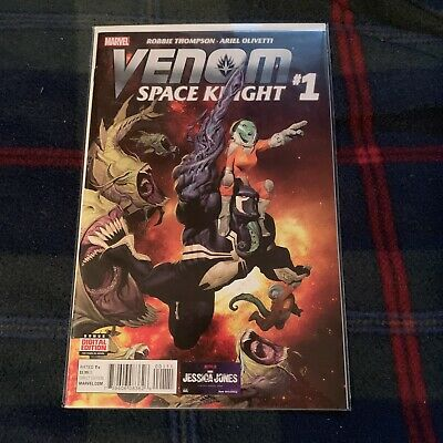 Venom Space Knight #1 Marvel, Symbiote, Flash Thompson