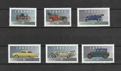 "Canada  1993  # 1490  A-F  "" Historic Vehicles # 1  "" Set of 6 Mint NH"