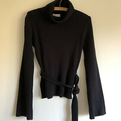 d0834e2562 TOPSHOP RIBBED ROLL Neck Jumper Sweater Dress Size 2 Orig.  75 ...