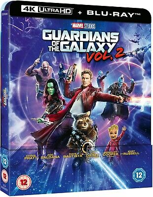 Marvel Guardians of the Galaxy Vol 2 (4K Bluray Steelbook) UK Version Avengers