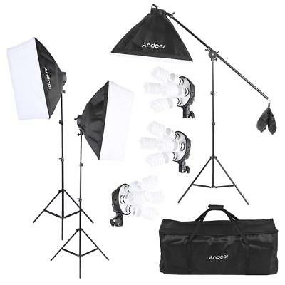 Studio Photo Video Kit d'éclairage Ampoules Bulb Socket Softbox