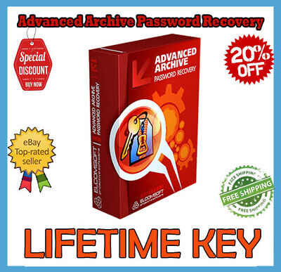 ELCOMSOFT ADVANCED ARCHIVE Password Recovery 4 54 55 License