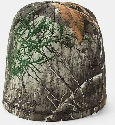 915dbdf70d7d7 Under Armour 1300466991OSFA Scent Control Realtree Camo Hunting Mens Beanie  Hat