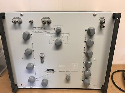 GR General Radio 1632A Inductance Bridge 1632-A Great Condition