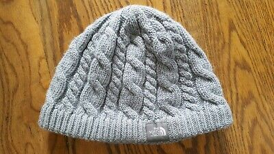 THE NORTH FACE TNF Wool Acrylic Alpaca Knitted Beanie Hat cap Fleece Band ski