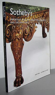 Christie's Important English Furniture, Ceramics & Decorations Oct. 18 2006 NY