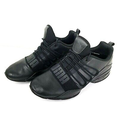 32fdc00924b Puma Cell Regulate SL Sneakers Solid Black Sport Athletic Shoes Mens Size 10