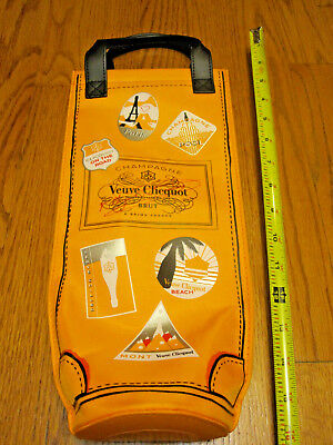 Veuve Clicquot Champagne Brut Orange Insulated Gift TOTE BAG Cooler NEW Wine