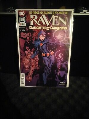 comics Raven Daughter of Darkness #1 first print 2018 very good conditions