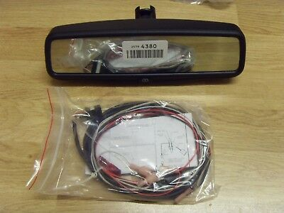 KIA / GM Vauxhall Auto Rear View Mirror LCD BACKUP CAMERA DISPLAY Gentex 027137