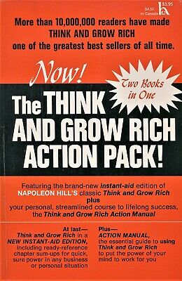 Think and Grow Rich Action Pack 1972 Paperback