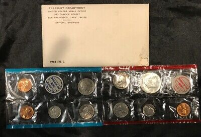 1968 U.S. MINT SET. ISSUED BY US MINT.  Sealed / Unopened