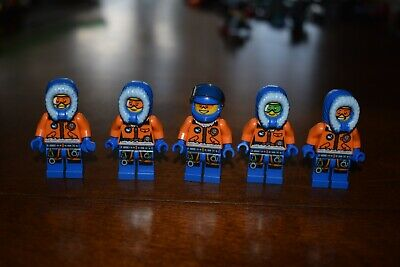 LEGO MINIFIGURE LOT Arctic Explorer Expedition Town City Creator Authentic