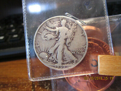 1939-S Walking Liberty Half  VG