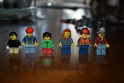 LEGO MINIFIGURE LOT Police Authentic City Town Creator Kids Holiday 10216  Miner