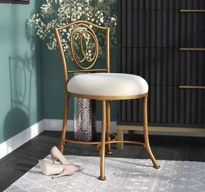 Magnificent New Bathroom Vanity Stool Chair Bedroom Cosmetic Makeup Gmtry Best Dining Table And Chair Ideas Images Gmtryco