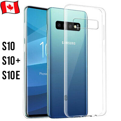For Samsung Galaxy S10 S10e S10 Plus Transparent Ultra Thin Soft Protect Case