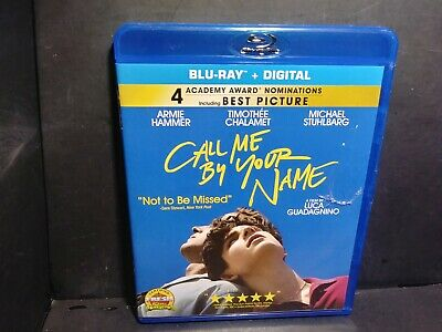 Call Me by Your Name (Blu-ray Disc, 2018) No Digital B318
