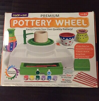 Made by Me! Premium Pottery Wheel Brand New