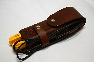 Similar to Fluke C520A Leather Carrying Case, T3 And T5 Tester  Made In USA
