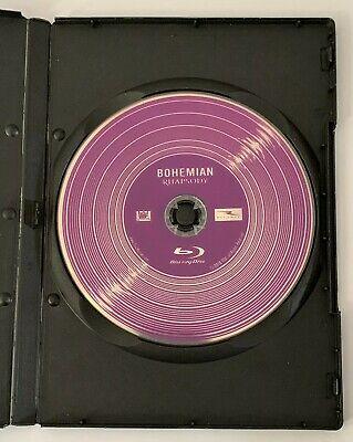 Bohemian Rhapsody (Blu-ray Disc ONLY + Blank Case) NEVER VEIEWED! SEE DETAILS!