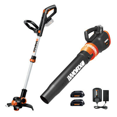Trimmer and Turbine Blower - Max 20 V Lithium-Ion, Combo Kit