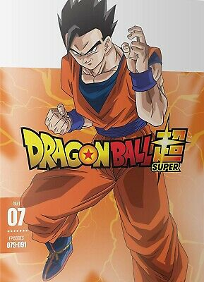 Dragon Ball Super: Part 7 Dvd | New | Episodes 079-091 | Funimation