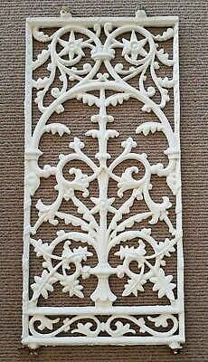 Iron Lacework Balustrade Panels
