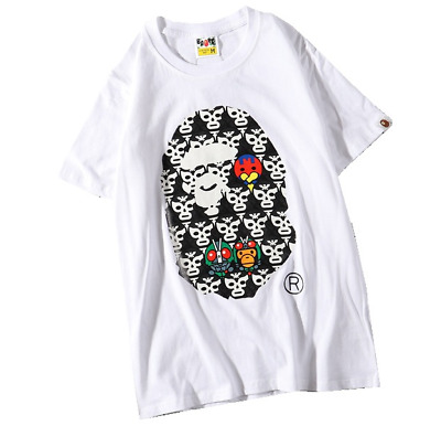 7aebbf8b A BATHING APE KID BABY MILO Tee BAPE Short Sleeve T-shirt Print Lover Tops