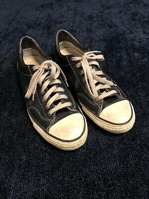 b858217695f5 Converse John Varvatos JV Leather All Star Player Size 10 Chuck Low Shoe  Sneaker
