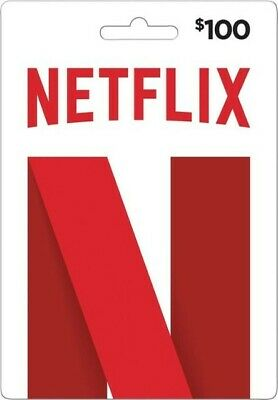 Netflix Gift Cards $100 (Email Delivery) *CHEAP*