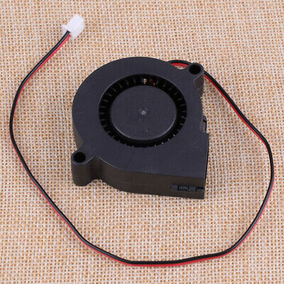 fit for  3D Printer 2Pin DC 24V 0.1A 50mm 5015 Blower Cooling Fan Extruder