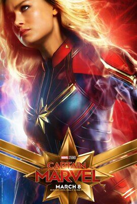 Captain Marvel 2019 High Resolution Movie Poster