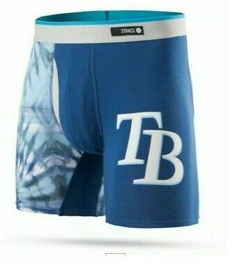 NEW - TAMPA BAY DEVIL RAYS STANCE/MLB BRIEFS / Medium