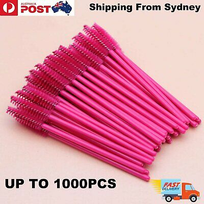 100-1000x Disposable Eyelash Brush Applicator Extension Mascara Wands Spoolers