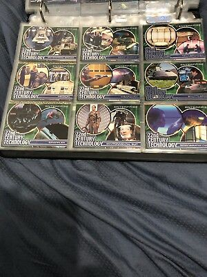 Star Trek Enterprise- Trading Cards-Season 1- T1-T9 (Complete Technology Set`)