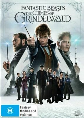Fantastic Beasts The Crimes of Grindelwald 2019 BRAND NEW Region 4 IN STOCK NOW