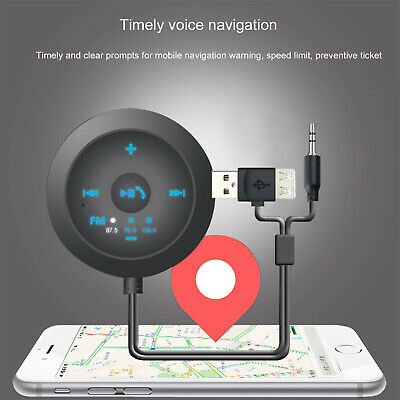 Wireless Bluetooth Car Kit FM Transmitter MP3 Player Charger Magnetic Handsfree