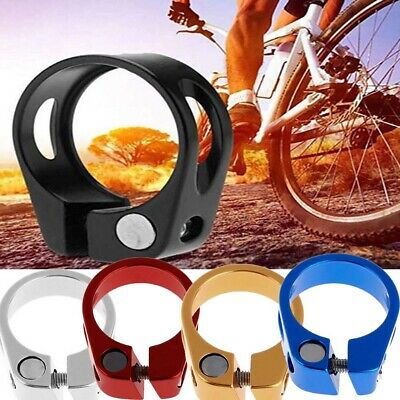 New 31.8mm 34.9mm MTB Bike Cycling Saddle Bicycle Seat Post Clamp Aluminum Alloy