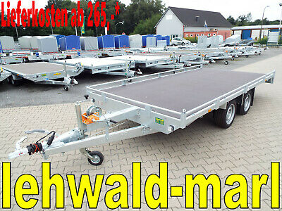2,7to. Eduard  Universal Autotransporter Neu 4,06x2m Autotransportanhänger
